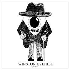 Winston Eyehill Poster