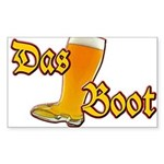 Das Boot Sticker (Rectangle)