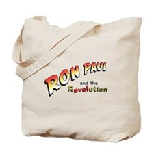Ron Paul and the Revolution Tote Bag