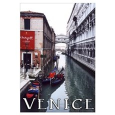 "Venice ""watercolor"" Framed Print"