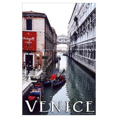 "Venice ""watercolor"" Poster"