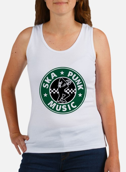 Ska Punk Women's Tank Top