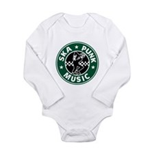 Ska Punk Long Sleeve Infant Bodysuit