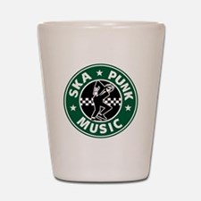 Ska Punk Shot Glass