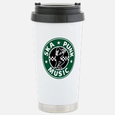 Ska Punk Stainless Steel Travel Mug