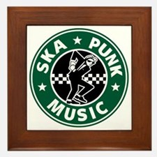 Ska Punk Framed Tile