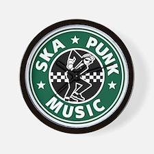 Ska Punk Wall Clock