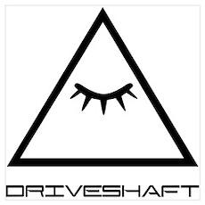 Drive Shaft Band Pyramid Logo Poster