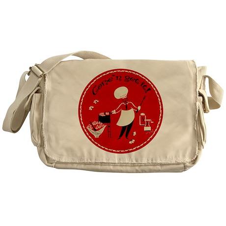 Come n' Get It Messenger Bag