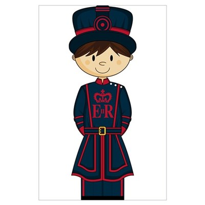 Royal Beefeater Guard (Large) Poster
