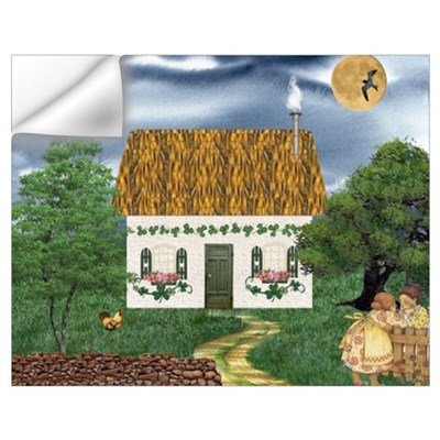 Storm Cottage Un Wall Decal