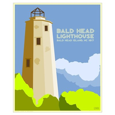 Bald Head Island Canvas Art