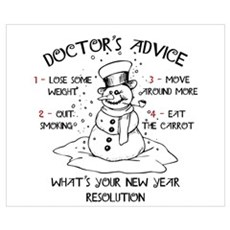 Doctor's Advice Poster