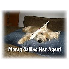 Morag Calls Agent Poster
