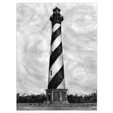 """Cape Hatteras Lighthouse"" Poster"