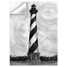 """Cape Hatteras Lighthouse"" Wall Decal"