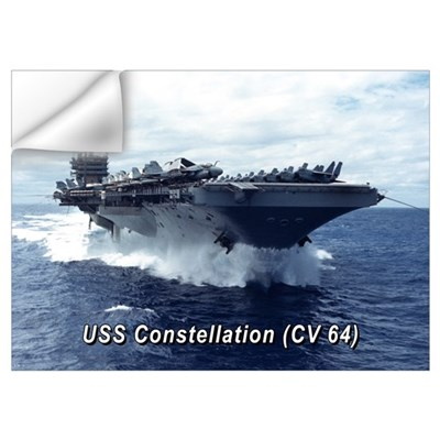 USS Constellation (CV 64) Wall Decal