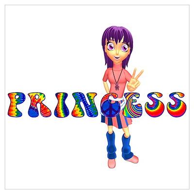 Princess - Anime/Manga Peace Poster