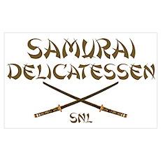 Samurai Delicatessen Poster