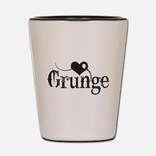 Love Grunge Shot Glass