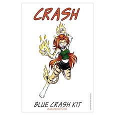 Fiery Crash Poster