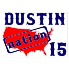 Dustin Nation 15 Framed Print