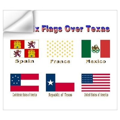 """Six Flags Over Texas"" Wall Decal"
