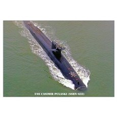 USS CASIMIR PULASKI Canvas Art