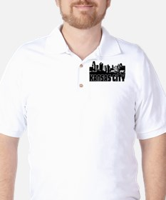 Kansas City Skyline Golf Shirt