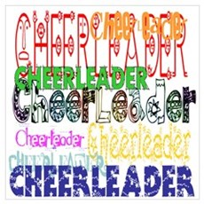 Multi Cheerleader Poster