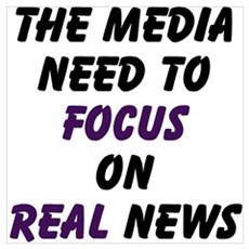 Focus on News Poster
