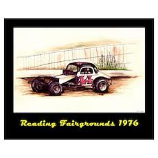 Reading Fairgrounds 44 Tas Poster