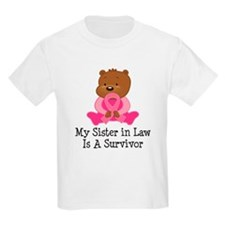 Breast Cancer Survivor Sister-in-Law T-Shirt