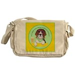 Beagle Bitch Diva Messenger Bag