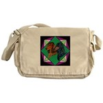 Dachshund Pair Messenger Bag