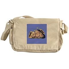 Bloodhound & Sunflowers Messenger Bag