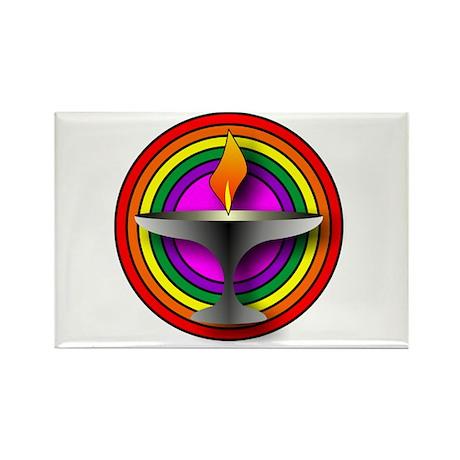 UU Welcoming Congregation Rectangle Magnet