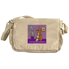 Boxer Bitch Messenger Bag