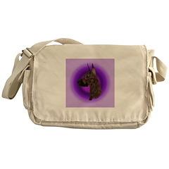 Brindle Great Dane Messenger Bag