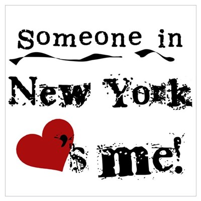 Someone in New York Poster