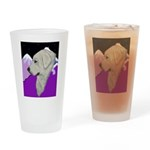 Great Pyranees Drinking Glass