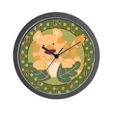 Tiger Jungle Safari Wall Clock