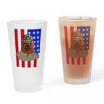 Bullldog Marine Drinking Glass