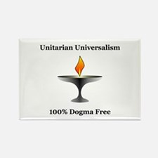 UU - 100% Dogma Free Rectangle Magnet