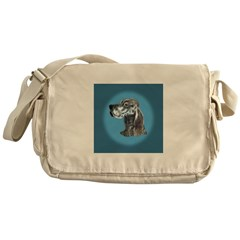 English Setter - Blue Beltan Messenger Bag