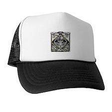 USN SWCC Silver Skull Trucker Hat
