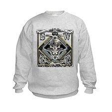 USN SWCC Silver Skull Sweatshirt