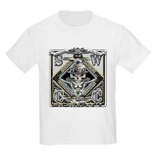 USN SWCC Silver Skull T-Shirt
