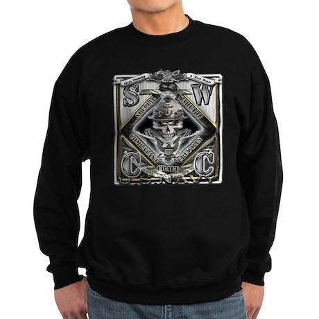 USN SWCC Silver Skull Sweatshirt (dark)