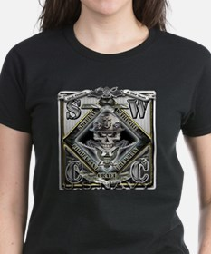 USN SWCC Silver Skull Tee